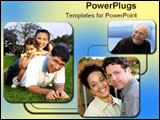 PowerPoint Template - Several different kinds of diversity in families.