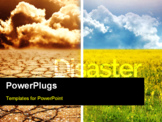 PowerPoint Template - Ecological disaster