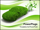 PowerPoint Template - An alternative power concept for green emissions