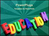 PowerPoint Template - Blackboard with children