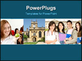 PowerPoint Template - Collage of Students