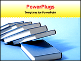 PowerPoint Template - a image of books