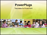 PowerPoint Template - View of a Classroom