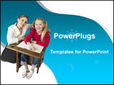 PowerPoint Template - his template with a teacher helping a student her study will be a good help in presentations on edu