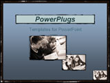 PowerPoint Template - Students studying