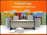 PowerPoint Template - Office Moments - Endless Paperwork #1.