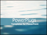 PowerPoint Template - Calm waters