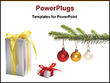 PowerPoint Template - Christmas gifts