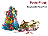 PowerPoint Template - image of party stuffs