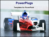 PowerPoint Template - image of sport car
