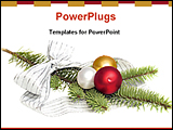 PowerPoint Template - image of a Christmas gift
