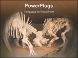 PowerPoint Template - Prehistoric Dinosaur