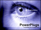 PowerPoint Template - scan of an eye