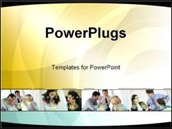 PowerPoint Template - business teamwork