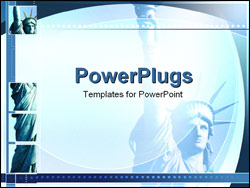 PowerPoint Template - Statue of Liberty