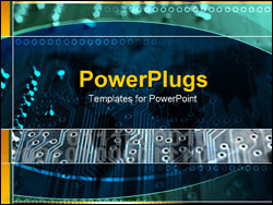 PowerPoint Template - circuit board