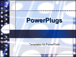 PowerPoint Template - pattern of lights