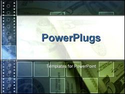 PowerPoint Template - Five dollar bills