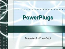PowerPoint Template - blue ripple design