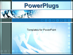 PowerPoint Template - world wide web