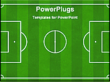 PowerPoint Template - football ground diagram