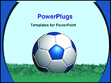 PowerPoint Template - image of a football