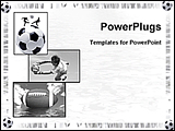 PowerPoint Template - different clips showing football moments