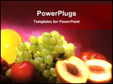 PowerPoint Template - mix fruits