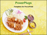 PowerPoint Template - image of delicious food