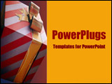 PowerPoint Template - Beautifully gift-wrapped and ready to be opened