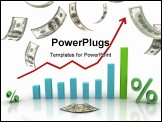 PowerPoint Template - The financial chart currency transactions, financial success