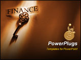 PowerPoint Template - the key to finance