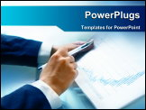 PowerPoint Template - Financial report analysis