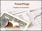PowerPoint Template - a image of money and newspaper