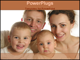 PowerPoint Template - parents with children