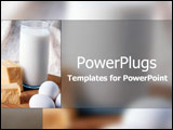 PowerPoint Template - For good healthy teeth and bones