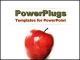 PowerPoint Template - An apple a day�