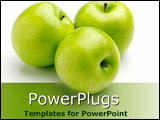 PowerPoint Template - Delicious green Granny Smiths
