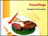 PowerPoint Template - Japanese food dish