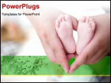 PowerPoint Template - hold baby