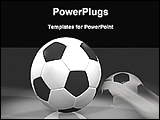PowerPoint Template - image of soccer ball