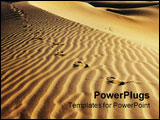 PowerPoint Template - Sand Dunes in Death Valley National Park California