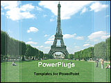 PowerPoint Template - Eiffel tower the wonder of France