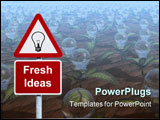 PowerPoint Template - Signpost for