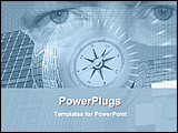 PowerPoint Template - eye on future planning
