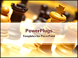 PowerPoint Template - a king of chess