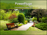 PowerPoint Template - Botanical garden