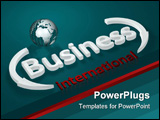 PowerPoint Template - Illustration about business concepts - Business - international - letters