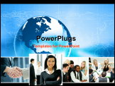 PowerPoint Template - Business collage made of some images