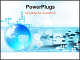 PowerPoint Template - Global Connection background illustration. See my gallery for more.